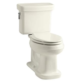 Kohler K-3827 Bancroft Comfort Height Two-piece Elongated 1.28 gpf Toilet with Class Five Flush Technology