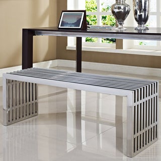 Large Stainless Steel Gridiron Bench
