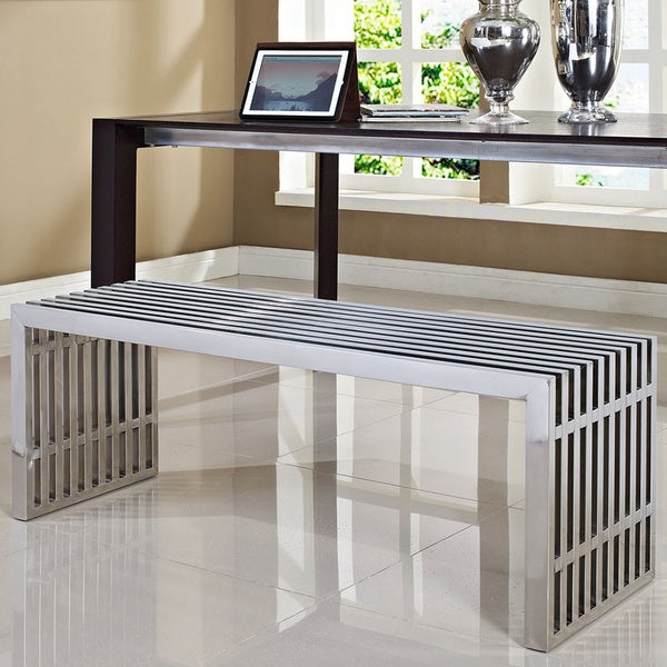 gridiron stainless steel bench 2