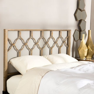 Brushed Gold Honeycomb Headboard
