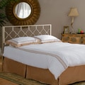 Brushed Gold Honeycomb Headboard with Adjustable Bed Frame