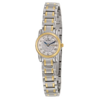 Bulova Women's 98P133 'Highbridge' Stainless Steel and Yellow Gold-Plated Quartz Watch