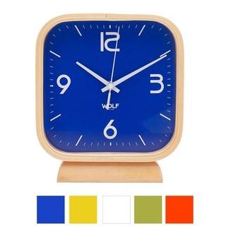 "WOLF 8.5"" Square Mantel Clock"