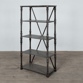 Handmade Davis Metal Bookshelf (India)