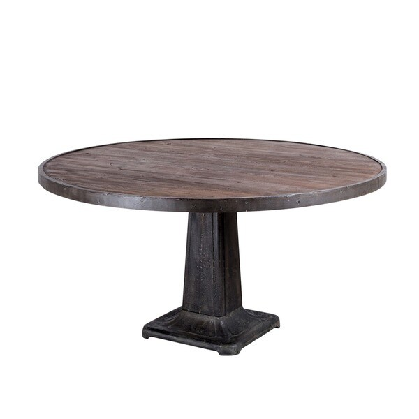 Mcvay handmade dining table india overstock shopping for Top rated dining tables