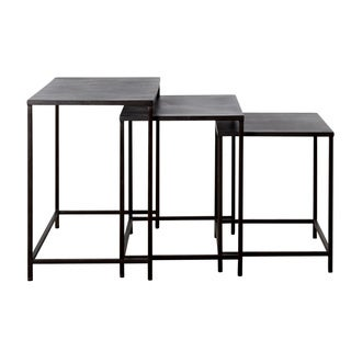 Handmade 3-piece Perry Nesting Tables (India)