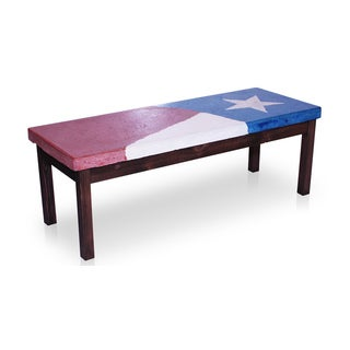 Texas Flag Coffee Table
