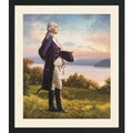 Mark Missman 'George Washington' Framed Art Print