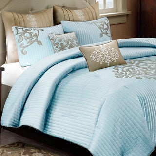 Madison Park Signature Bennett 8-piece Charmeuse Comforter Set