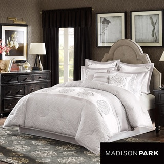 Madison Park Signature Belmont 8-piece Charmeuse Comforter Set