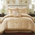 Madison Park Signature Carmichael 8-piece Charmeuse Comforter Set