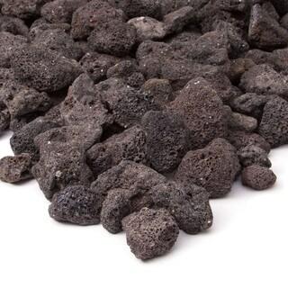 Real Flame Black Lava Rock