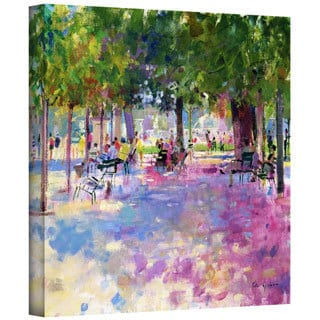 Peter Graham 'Tuileries, Paris' Gallery-Wrapped Canvas Wall Art