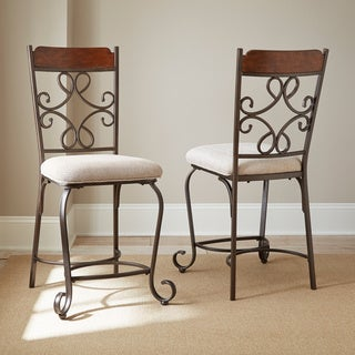 Calista Counter-height Dining Chairs (Set of 2)