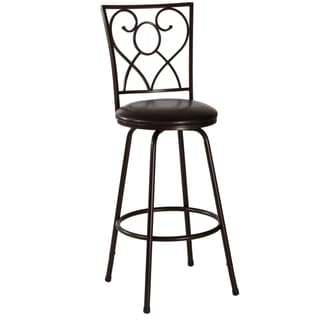 Bellesol Brown Adjustable Stool