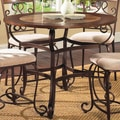 Calista 45-inch Round Counter-height Dining Table