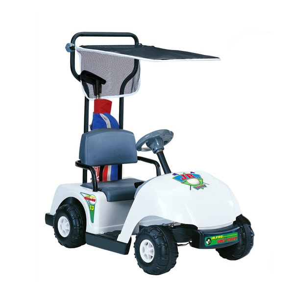 Kid Motorz Jr. Pro 6-volt White Golf Cart