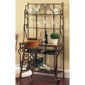 Calista Dark Bronze Baker's Rack