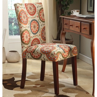 HomePop Suzani Parson Dining Chair (Set of 2)