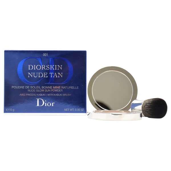Diorskin Nude Tan Nude Glow Sun 001 Honey Powder
