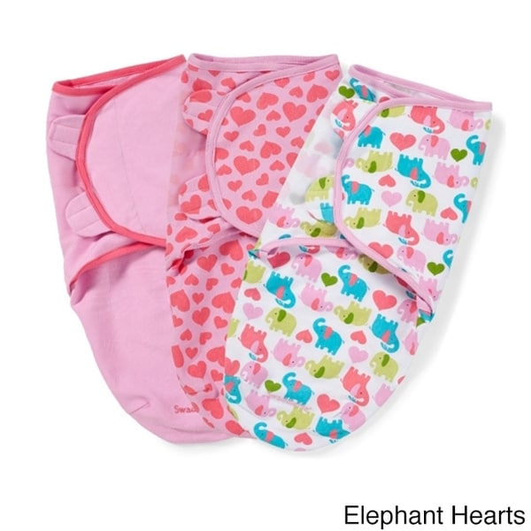 Summer Infant SwaddleMe Cotton Knit Swaddler (3 Pack)