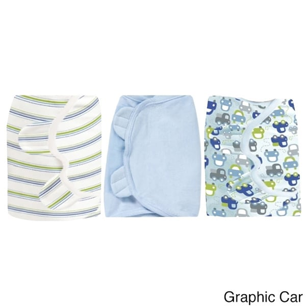 Summer Infant Large SwaddleMe Cotton Knit Swaddler (3 Pack)