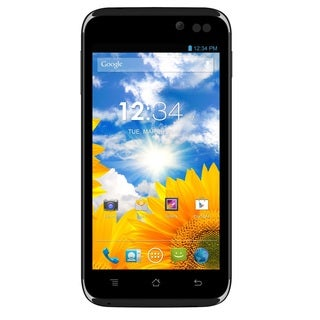 BLU Advance 4.5 A310a Unlocked GSM Dual-SIM Black Android Cell Phone