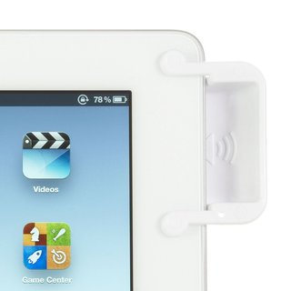SoundBender 3.0 White Magnetic Power-Free Amplifier for iPad