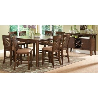 Montreat Counter Height Oak Dining Set