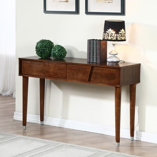 Venus Autumn Oak 2-drawer Sofa Table