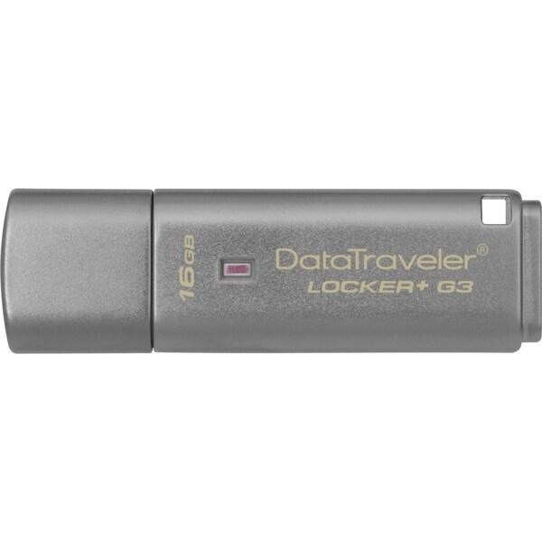 Kingston 16GB DataTraveler Locker+ G3 USB 3.0 Flash Drive