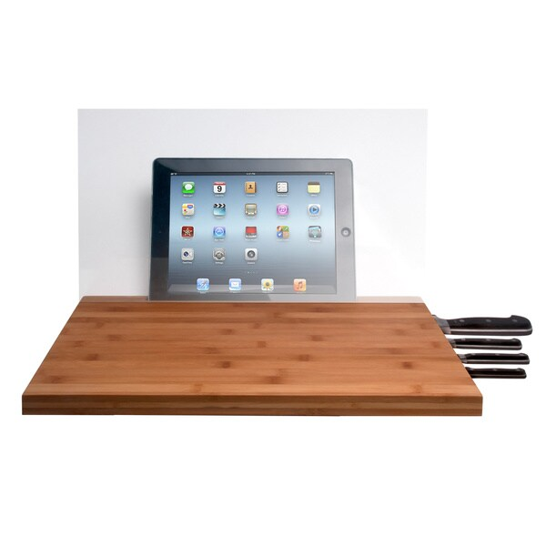 Bamboo iPad Cutting Board
