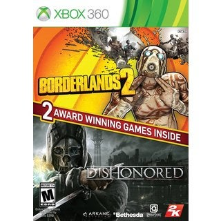 Xbox 360 - The Borderlands 2 & Dishonored Bundle