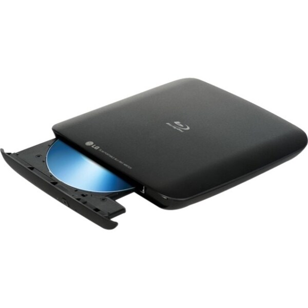 LG WP40NB30 External Blu-ray Writer - Retail Pack - Black