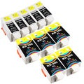 Sophia Global Compatible Kodak 30XL 10-piece Ink Cartridge Replacement Set (5 Black, 5 Color)