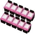 Sophia Global Remanufactured Ink Cartridge Replacement for HP 61 (10 Color)