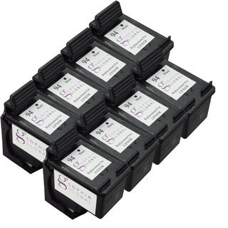 Sophia Global Remanufactured Ink Cartridge Replacement for HP 94 (8 Black)