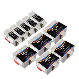 Sophia Global Compatible Ink Cartridge Replacement for Kodak 10XL (5 Black, 5 Color)