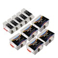 Sophia Global Compatible Ink Cartridge Replacement for Kodak 10XL (5 Black, 5 Color)