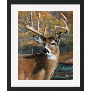 Kevin Daniel 'Deer Head I' Framed Art Print