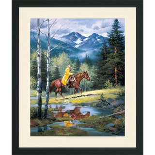 Jack Sorenson 'Reflections' Framed Art Print