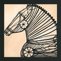 JC Pino 'Mechanical Horse II' Framed Print Art
