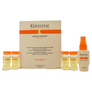 Keratase Nutritive Aqua-Oleum 0.41-ounce Treatment (Pack of 4)