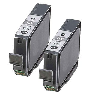 Canon PGI9GY Grey Compatible Inkjet Cartridge (Remanufactured) (Pack of 2)