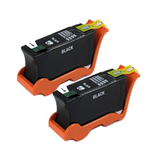 Dell Series 21 (Y498D / 330-5275) Black Compatible Ink Cartridge (Remanufactured) (Pack of 2)