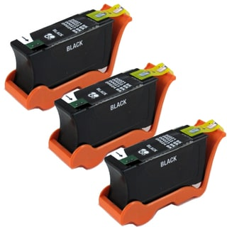 Dell Series 21 (Y498D / 330-5275) Black Compatible Ink Cartridge (Remanufactured) (Pack of 3)