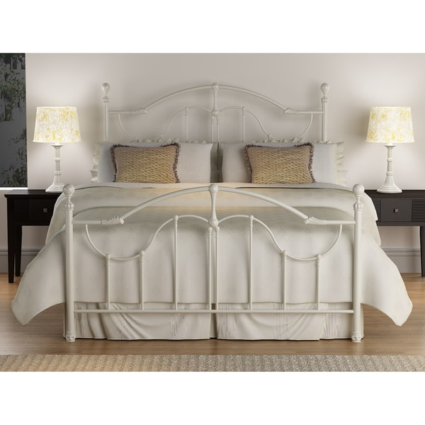 Roxie Antique White Queen Size Bed 80005318 Overstock