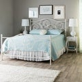 Emma Plain White Queen-size Bed