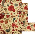 Tropical Acres 3 Piece Rug Set