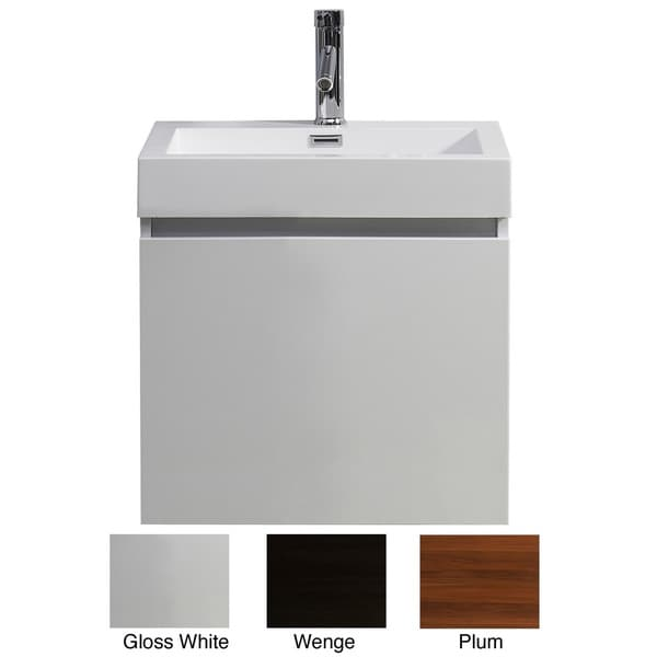 Virtu USA Zuri 24inch Singlesink Bathroom Vanity Set  15946814